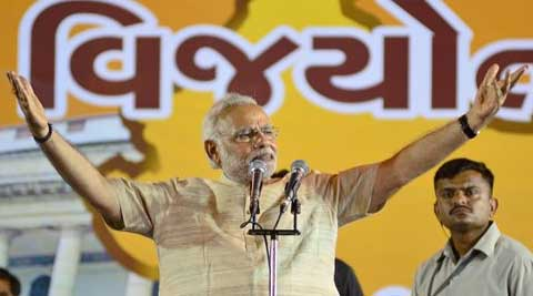 Narendra Modi will be formally elected as the leader of the BJP Parliamentary Party at its meeting on May 20. (PTI)