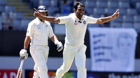 Mohammed Shami was one of the four Indian pacers who were picked up in the IPL auctions. However, his focus will be to get the most out of the helpful track at Wellington (Reuters)