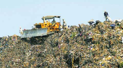 The waste management plant is an attempt to gradually move dumping grounds away from human habitat.