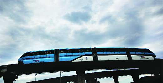 Fire In Monorail Train, No Casualties Reported, But Services Shut