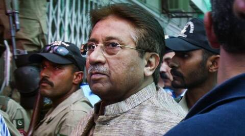 Former Pakistan dictator Pervez Musharraf. (Photo: AP)