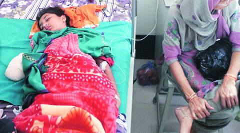 Muskaan, a Class VIII student, was seated in the front seat and was thrown out from the window.