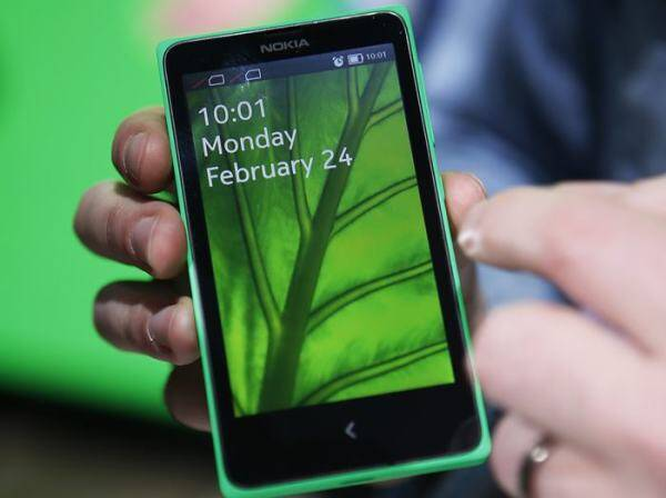 The Nokia X series phones will rely upon an open version of the Android mobile software system created by Google that has become the world's most popular software used in smartphones.