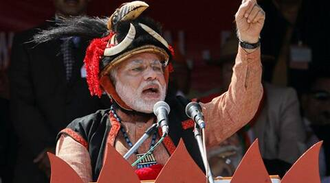 Modi said Hindu migrants from Bangladesh must be accommodated in the country. (AP)