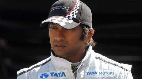 Narain Karthikeyan. (File)