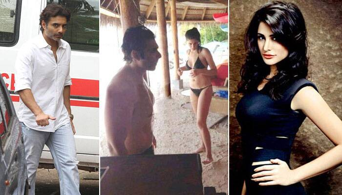 <b>Nargis Fakhri – Uday Chopra</b>: Though the two have denied any sort of special relationship, Uday Chopra and Nargis Fakhri have been spotted enjoying each other's company quite a few times. The couple was recently spotted holidaying in Maldives. Like Katrina, Nargis was also seen in a bikini. While Dhoom's Ali was in beach shorts.<br />Also, the couple seems to have taken social media flirting to a whole other level. Uday is well known for tweeting sweet nothings to the beauty. However, we hear that Nargis is not too keen to tie the knot so soon.