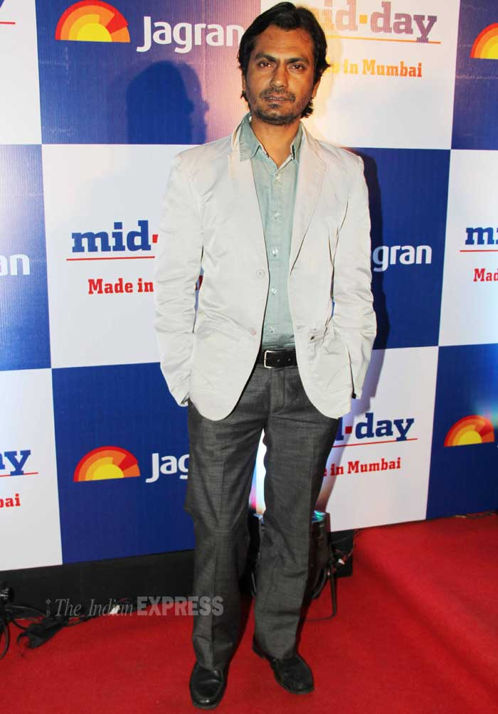 Actor Nawazuddin Siddiqui was dapper. (Photo: Varinder Chawla)