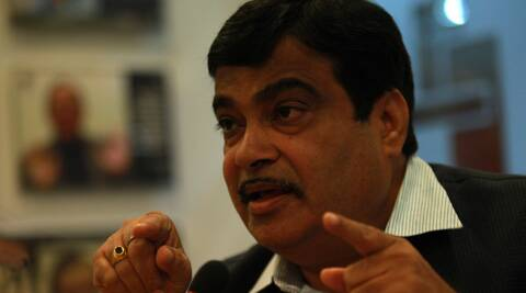 File  photo: BJP leader Nitin Gadkari.