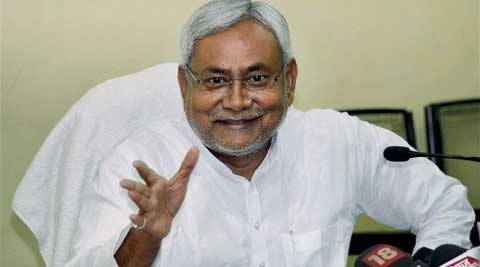 "Nitish Kumar told reporters that there are differences in Lalu Prasad-led RJD and the party is ""on the verge of a split""."
