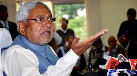 Criticising Paswan, Nitish Kumar said that the LJP leader's words and deeds can't be trusted. (PTI)