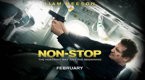 Liam Neeson plays the role of Air chief marshal in the movie 'NON-STOP'