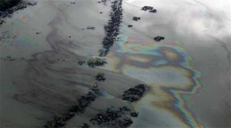 California coast: Oil pipeline spills about 21K gallons into the ocean