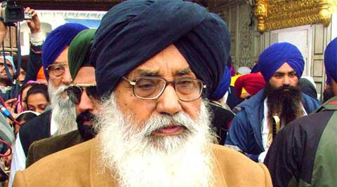 What Amarinder says is false and baseless, Parkash Singh Badal said.