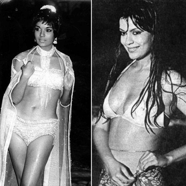 The 70s bombshell Zeenat Aman, who is reportedly going to tie the knot soon with her longtime beau, got all sexy in a white bikini in her hit film Qurbani opposite Feroz Khan.