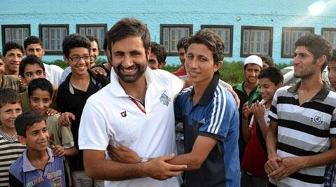 Parvez Rasool was picked for Rs 95 lakh by the Sunrisers Hyderabad franchise (IE Photo)