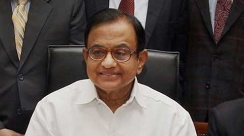 Finance Minister P Chidambaram on Monday presented the interim Budget amid chaos. (PTI Photo)