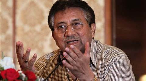 There's a heated debate on whether Musharraf should be tried by a military court or not. (AP)
