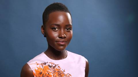 Lupita Nyong'o poses for a portrait at the 86th Oscars Nominees Luncheon, in Beverly Hills, Calif. (AP)