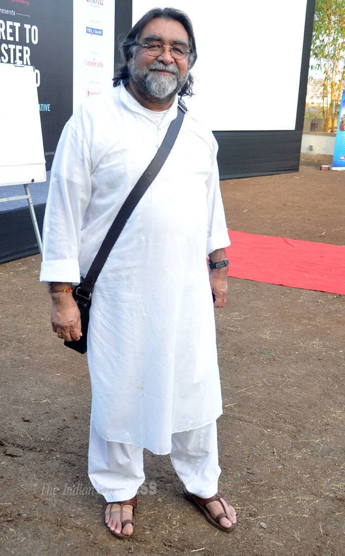 Ad film director Prahlad Kakkar was also spotted at the event. (Photo: Varinder Chawla)