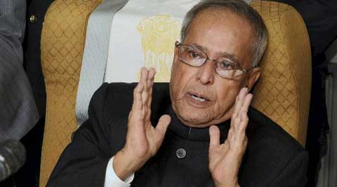 President Pranab Mukherjee stressed on the importance of building a slid defence force to counter any threats.
