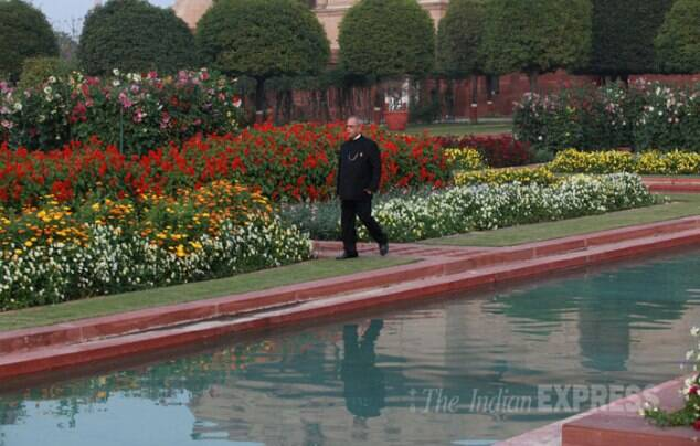 Mughal Gardens open for public