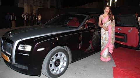 Priyanka Rolls Royce