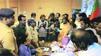 BJP takes protest to PMC chief's office