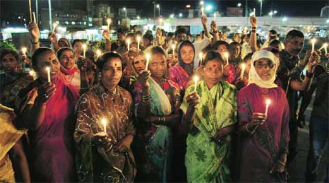 The AAP said from Monday it would carry out a signature campaign while holding candle marches every evening.