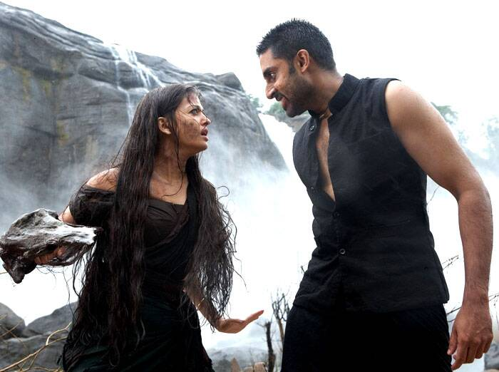 In 2010, Abhishek co-starred with wife Aishwarya in Mani Ratnam's 'Raavan'. The film, which had Bachchan Junior in a negative role, however, was a critical and commercial failure. Later that year, Abhishek played a teacher in Ashutosh Gowariker's period piece film, 'Khelein Hum Jee Jaan Sey'. Though the film opened to good reviews, it was a box office disaster.