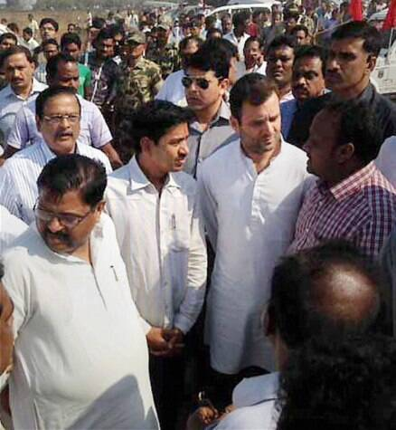 Rahul Gandhi meets Odisha boat tragedy victims' families