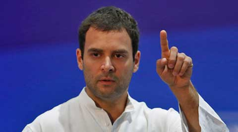 Rahul Gandhi said that he did not approve of Salman Khurshid's 'impotent' statement against Narendra Modi.