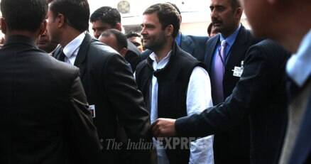 Civil services aspirants meet Rahul Gandhi