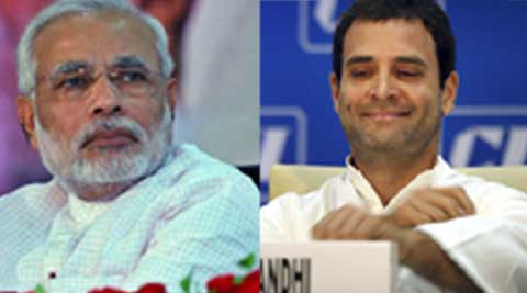 Rahul Gandhi, who is set to address meetings at Bellary and Mangalore on Friday, while as Modi will be in Karnataka on April 8 at a party rally at Chikkaballapur.