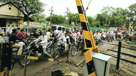At Ghorpadi, residents have had to deal with long traffic jams because of the closure of two adjacent railway gates on a daily basis. arul horizon
