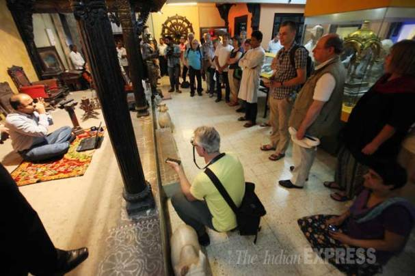 German musicians visit Raja Dinkar Kelkar Museum