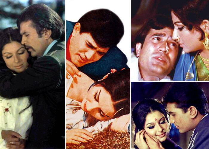 <b>Rajesh Khanna – Sharmila Tagore</b>: They had us mesmerised by their magic in 'Aradhana' in 1969. Their greatest movie together was 'Amar Prem', one of the best movies ever made in Bollywood. They had several other successes too in 'Safar, Chhoti Bahu' and 'Avishkar'.