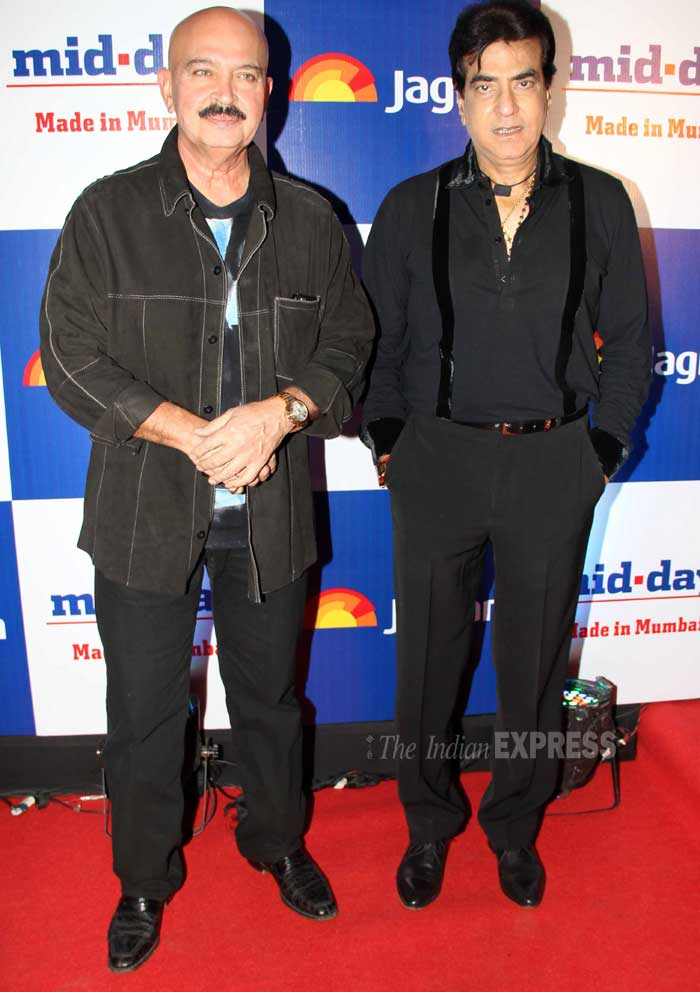 B-town veterans – Jitendra and Rakesh Roshan. (Photo: Varinder Chawla)