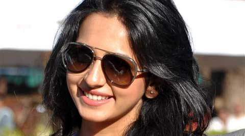 Metallic object was found in Rakul Preet's bag.