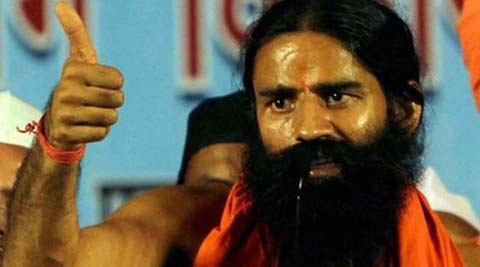 Yoga guru Ramdev repeated his promise to bring black money back to the country. (PTI)