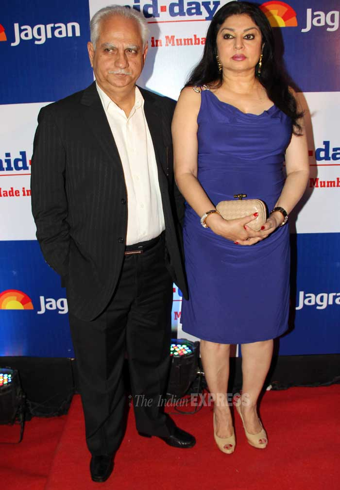 Ramesh Sippy came with his wife Kiran. (Photo: Varinder Chawla)