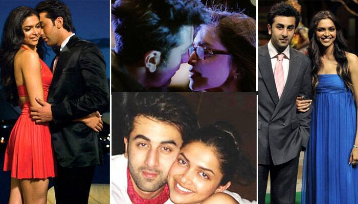 <b>Ranbir Kapoor – Deepika  Padukone</b>: When Deepika and Ranbir carried the label of the 'new kids on the block', sparks flew on the sets of their film, 'Bachna Ae Haseeno' which saw them locking lips onscreen and the duo started dating. However, after an ugly breakup, the former flames put aside any sort of sour feelings and teamed up together for rom-com 'Yeh Jawaani Hai Deewani' last year. And result was electrifying both on screen and at the box office - and the movie became the fourth grossing Bollywood of all time in India and abroad.
