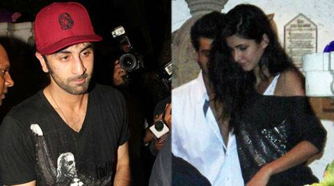 This is not the first time that Ranbir Kapoor has been spotted minus girlfriend Katrina Kaif.