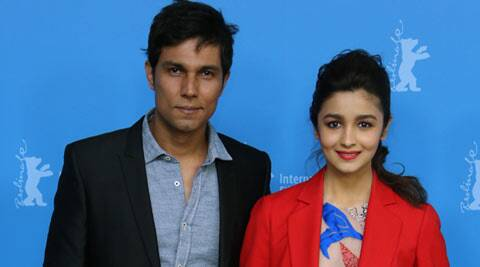 Randeep Hooda, Alia Bhatt take Highway to at the Berlin Film Festival. (AP)
