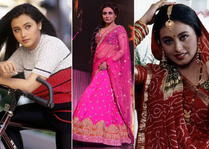 <b>Rani Mukerji</b>: There was a time when Bengali beauty Rani Mukerji ruled the industry with films like 'Ghulam'and 'Kuch Kuch Hota Hai'. But, it's hard to imagine the actress who last seen in 'Talaash', as the same girl who played the lead in 'Biyer Phool' and 'Raja Ki Ayegi Baraat'. The light-eyed beauty is still stunning and we do hope we get to see more of her onscreen in the coming years.