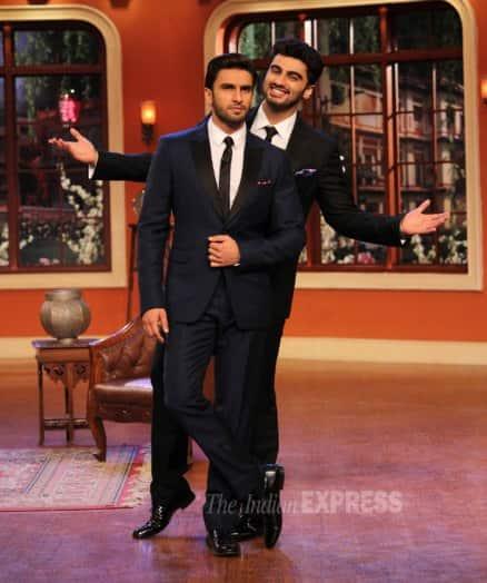 Priyanka Chopra dolls up while boys Ranveer-Arjun suit up