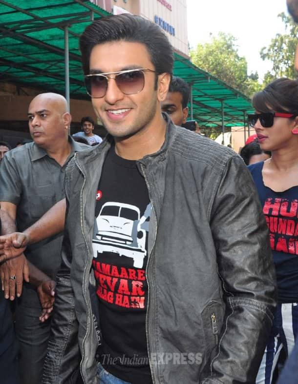 Gunday's Priyanka, Ranveer, Arjun meet the fans