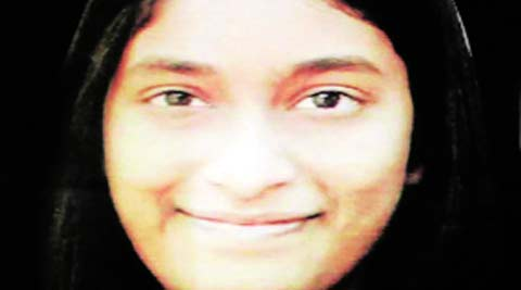 The post-mortem report states that Anuhya was hit on her head with a sharp object.