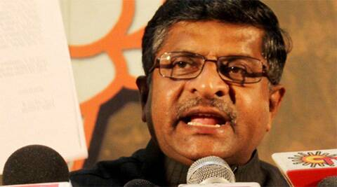 BJP spokesperson Ravishankar Prasad. (Photo: PTI)