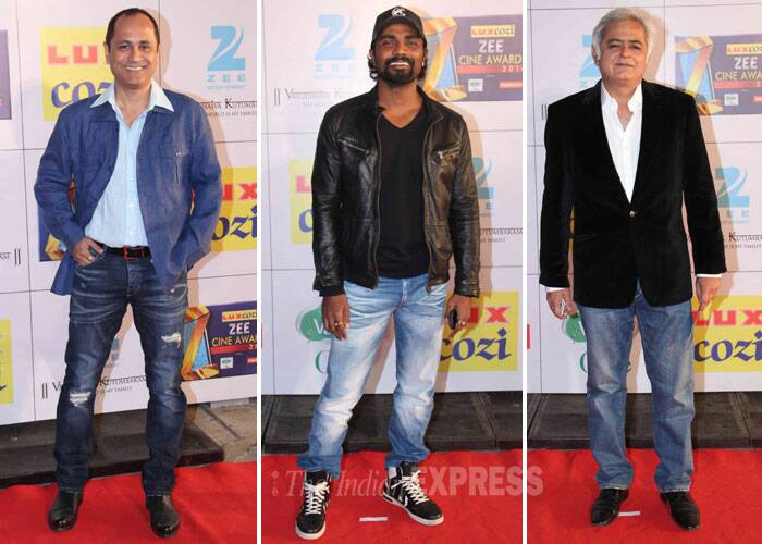 Director's cut – Vipul Shah, Remo D'souza and Hansal Mehta. (Photo: Varinder Chawla)