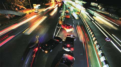 The newly inaugurated elevated road, which takes commuters directly from the Western Express Highway to T2 in five minutes, had become an accident-prone area due to lack of traffic advice.